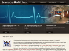 Web Design Project - Innovative-Healthcare