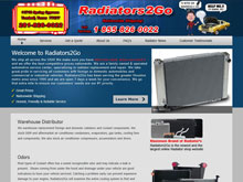Web Design Project - Radiators2Go