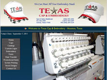 Web Design Project - Texas Cap